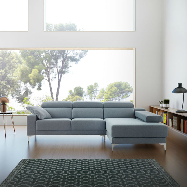 Chaiselongue modelo GALIA con pata alta