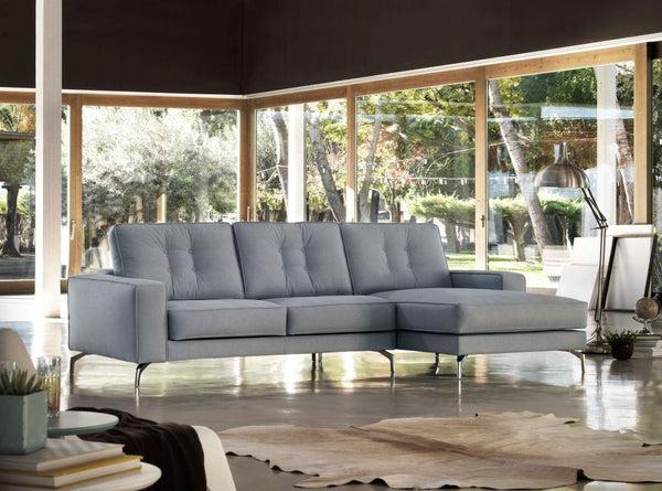 Chaiselongue diseño tela antimanchas - tiendas sofas Madrid - SI DIVANI