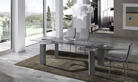 Mesa Comedor Extensible modelo GLASS0012