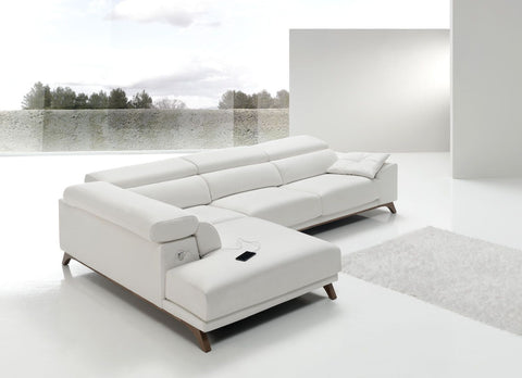 chaiselongue rinconera de diseño italiano