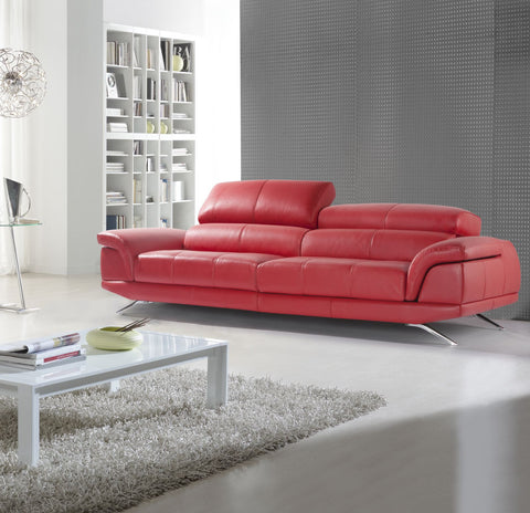 Chaiselongue modelo RIVIERA en piel color Marrón