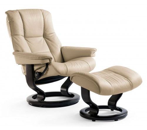 Sillon STRESSLESS modelo MAYFAIR con pie madera Classic
