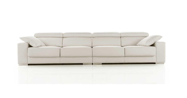 Sof modelo galia con respaldo abatible 4 plazas sidivani for Sofa cama 4 plazas