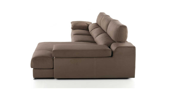 Chaiselongue modelo BOMBAY con Brazo Abatible