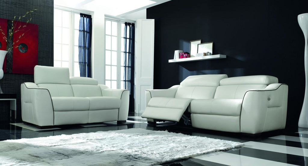 Sof modelo monaco en piel color taup sidivani for Sofas piel madrid