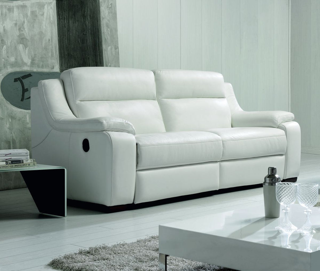 Sof modelo eva en piel sidivani for Sofas baratos madrid outlet
