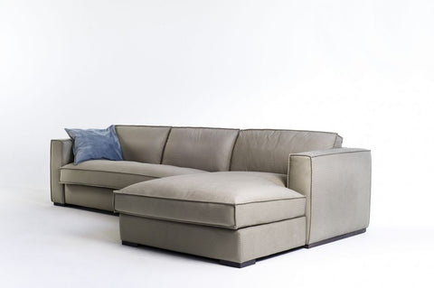 Sofá cama con chaiselongue modelo LAB