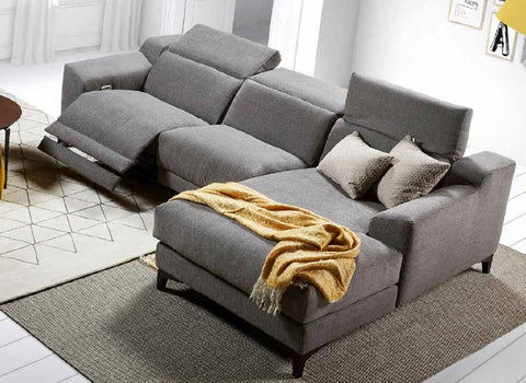 Chaiselongue modelo ALABASTER en tela
