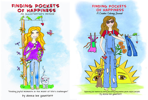 FINDING POCKETS OF HAPPINESS BOOKS