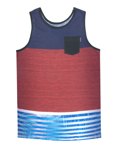 TROPIC POCKET TANK KNIT