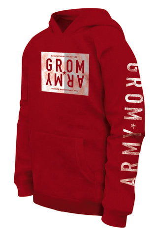 ARMY 2 TONE PULL OVER HOODIE