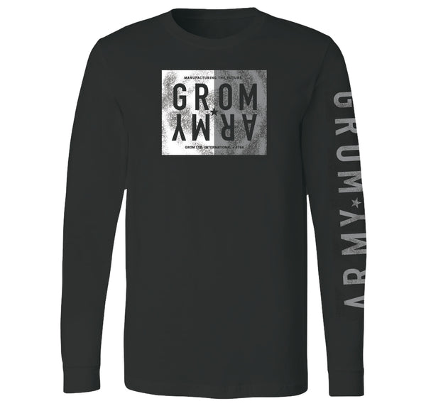 ARMY TWO TONE LONG SLEEVE TEE
