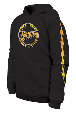 SCRIPT FADE PULL OVER HOODIE
