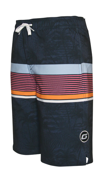 BOARDWALK DRAWSTRING WAIST POCKET VOLLEY BOARD SHORT