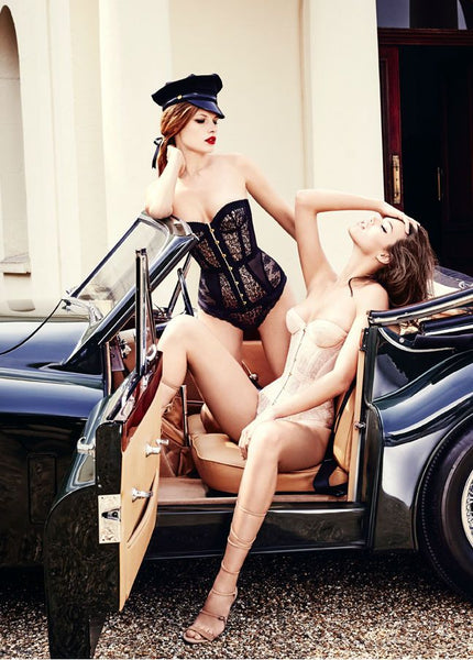 "Agent Provocateur ""Classics"" Collection photographed by Ellen Von Unwerth"