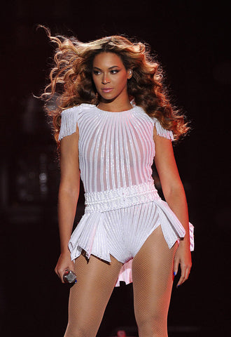 Custom Ralph & Russo bodysuit from the Mrs. Carter Show World Tour, 2013.