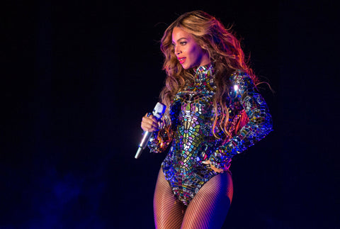 Beyonce performs at the 2014 MTV VMA Awards.