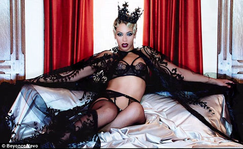 """Haunted"" video, Beyonce album. Lingerie by Agent Provocateur."
