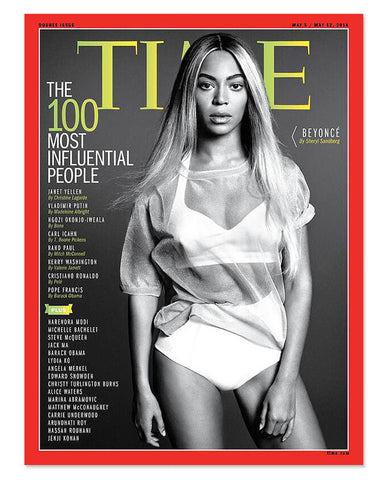 Cover of the Time 100, April 2014.