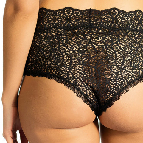 EcoLace Hi-Rise Cheeky Knicker - Bluestockings Boutique  - 1