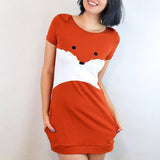 Fox Dress with Ears - Bluestockings Boutique  - 2