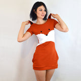 Fox Dress with Ears - Bluestockings Boutique  - 1