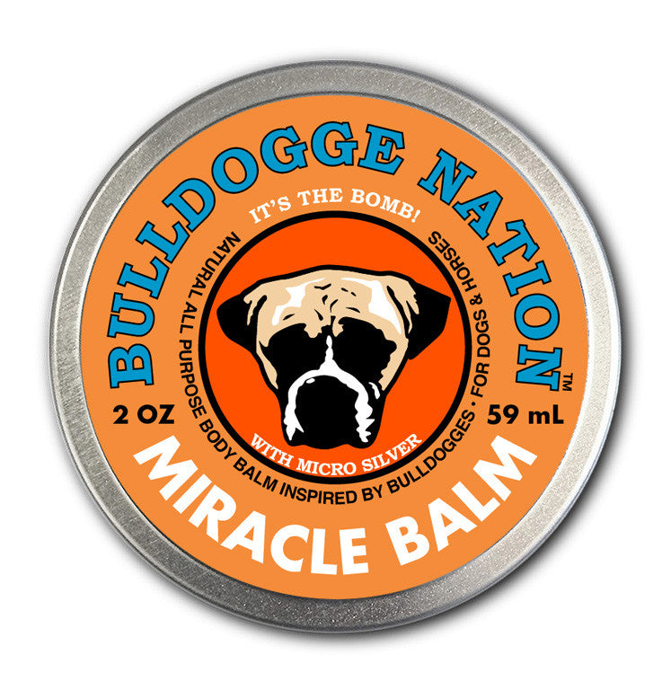 Bulldogge Nation Miracle Balm - 2 oz. tin