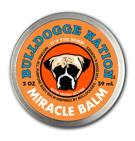 Bulldogge Nation™ Miracle Balm - 2 oz. tin
