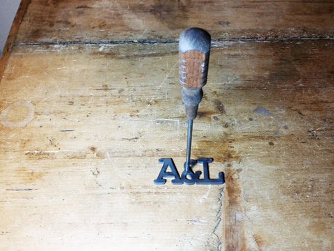 "Branding Iron: ""&"" with 2 letters"