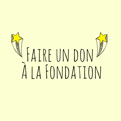 Faire un don à la Fondation