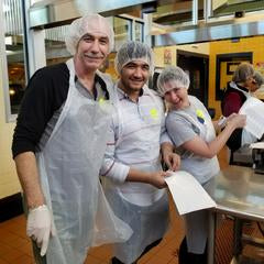 Rivanna Volunteers at FeedMore's Community Kitchen