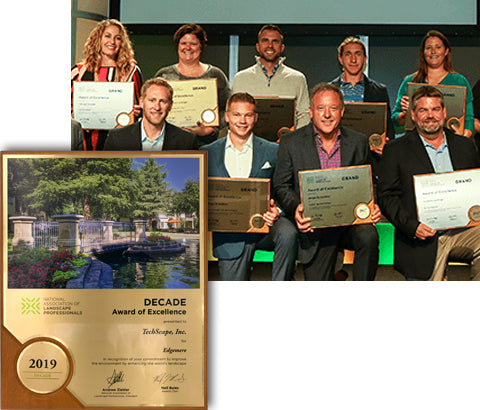Landscape Professionals award winners