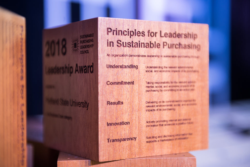 Principles of the sustainable purchasing leadership council