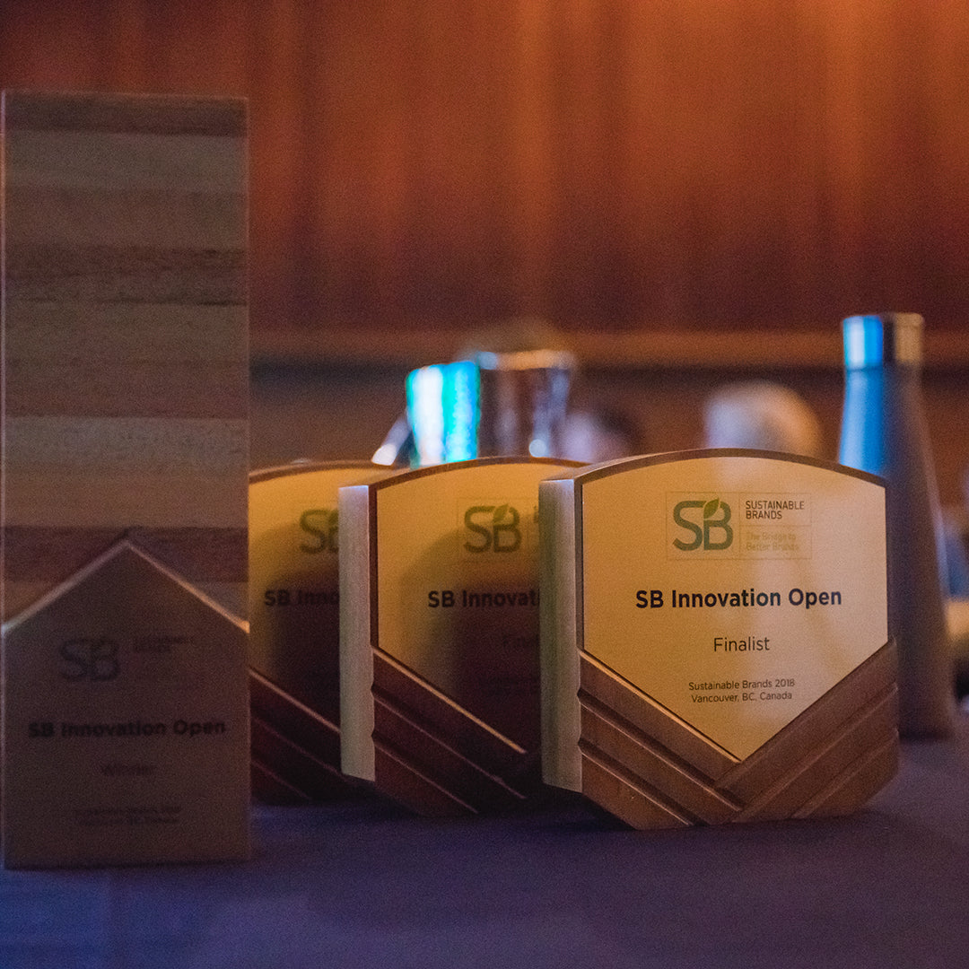 Sustainble Brands eco awards by Rivanna Designs