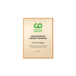 Bamboo Mini Plaque Gold/Gold l Bamboo plaque | Eco-Friendly Choice for Awards‎