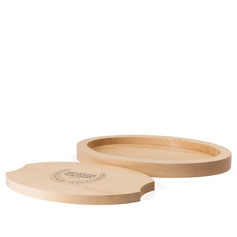 Oval Serving Set