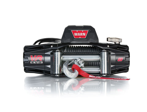 VR EVO 8 - WARN WINCH - 8,000 LB - ROLLER FAIRLEAD, WIRE ROPE