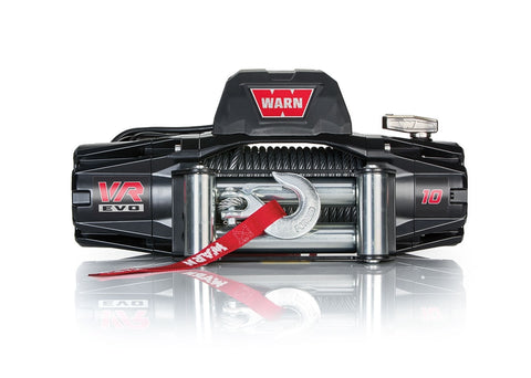 VR EVO 10 - WARN WINCH - 10,000 LB - ROLLER FAIRLEAD, WIRE ROPE