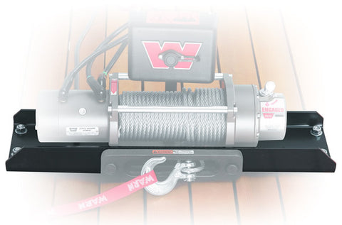 Universal Foot Forward Winch Mount Kit - Incl. Winch Mounting Plate - PreDrilled To Mount WARN M12 - M8274 And M8274 50