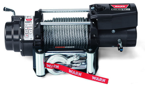 16.5ti Thermometric - Warn Winch,16500 lb.- w/Roller Fairlead, Wire Rope