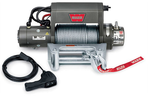 XD9000i - Warn Winch - 9000 lb - w/Roller Fairlead, Wire Rope