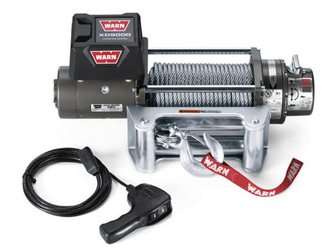 XD9000 - Warn Winch - 9000 lb - w/Roller Fairlead, Wire Rope