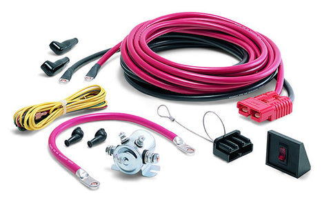 Quick Connect Power Cable - 24 ft. - For Rear Of Vehicle - Incl. Power Interrupt Kit