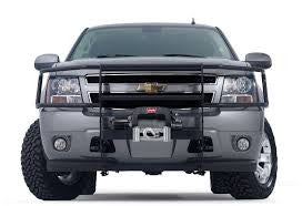 Trans4mer - Brush Guard - For Use w/Trans4mer Grille Guard - Three Bar Wrap Around - Black