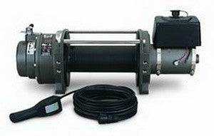 Series 9 DC - Industrial Winch - 9000 lb.- 24V DC Motor