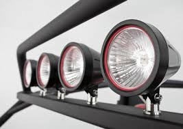 Light Bar - High Profile For WARN XT 4 in. Lights - Up To 4 Lights