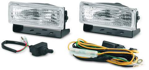 ATV Trail Lights?äó - 35 Watt - H3 Halogen Bulb - Incl. Mounting Bracket - Wiring Harness - Switch - And Mounting Hardware