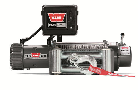 9.5xp - Warn Winch - 9500 lb.- w/Roller Fairlead, Wire Rope