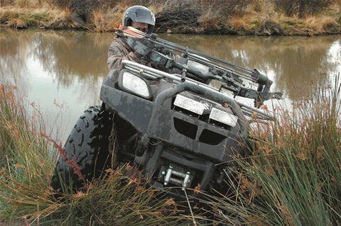 ATV Front Bumper - Not Compatible w/Warn Multi Mount Kit - Does Not Accommodate Warn Trail Lights - Lights May Be Mounted To Front Rack
