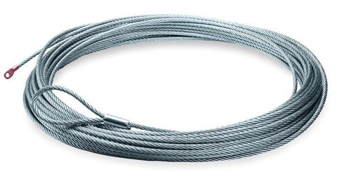 Wire Rope - 7/32 in. x 55 ft. - For Winch Model 4.0ci,RT40,VANTAGE 4000, PROVANTAGE 4500
